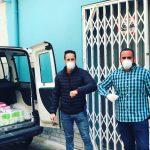 Mas de Bondia colabora con el ayuntamiento de Benaguasil contra el Covid-19